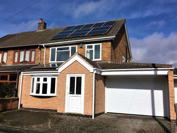 3 Bedrooms Semi Detached House for sale in Everest Drive, Melton Mowbray, LE13