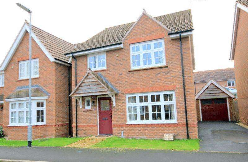 4 Bedrooms Detached House for sale in Reed Drive, Stafford