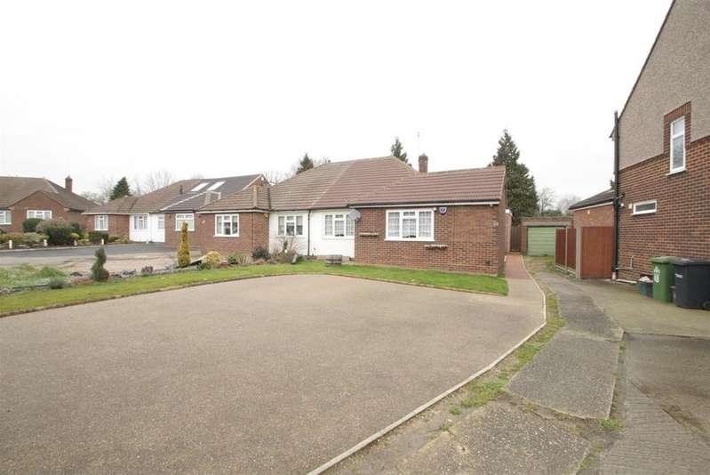 2 Bedrooms Semi Detached Bungalow for sale in Montayne Road, Cheshunt, Herts, EN8