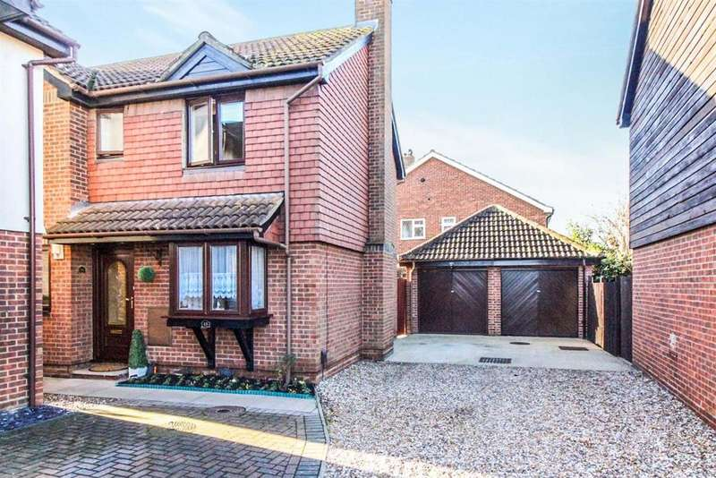 4 Bedrooms Detached House for sale in Girton Court, Cheshunt, Herts EN8