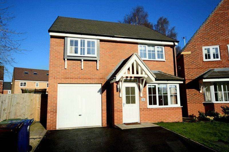 4 Bedrooms Detached House for sale in Hayeswater Grove, Yarnfield, Stone