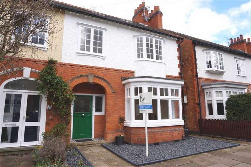 4 Bedrooms Semi Detached House for sale in Knighton Church Road, South Knighton, Leicester