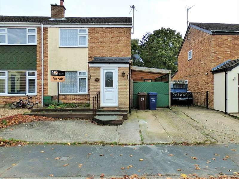 3 Bedrooms Semi Detached House for sale in Barton Grove, Kedington CB9 7PT