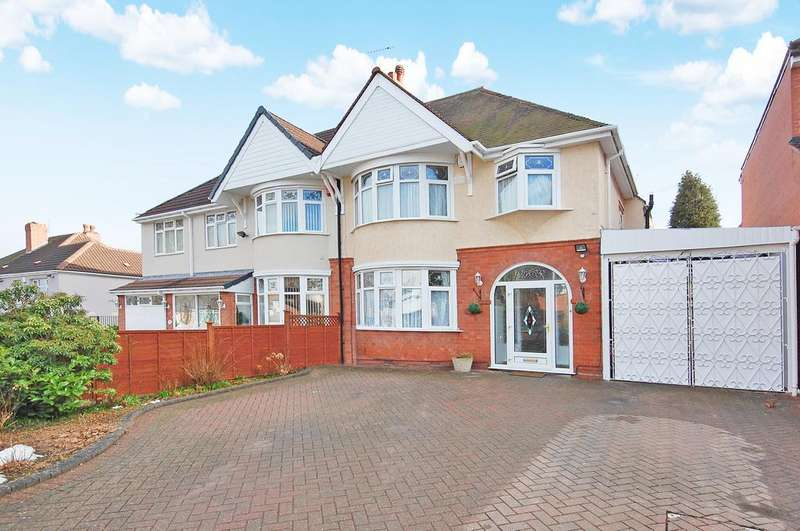 4 Bedrooms Semi Detached House for sale in HIMLEY CRESCENT, Penn, Wolverhampton WV4