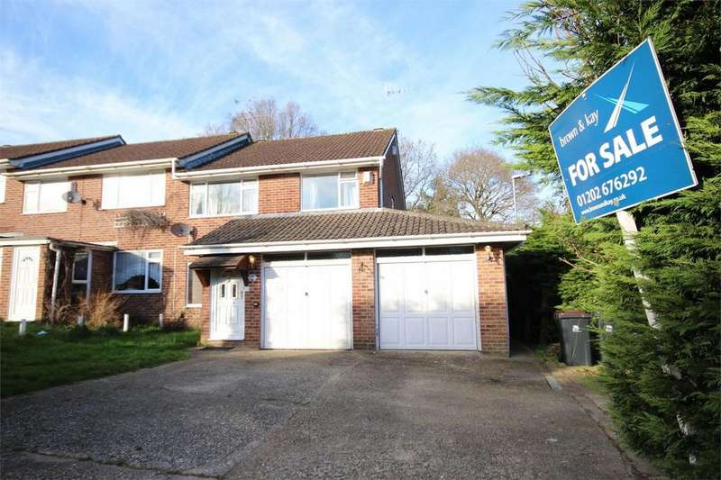 3 Bedrooms End Of Terrace House for sale in Jubilee Road, Corfe Mullen, Wimborne, Dorset