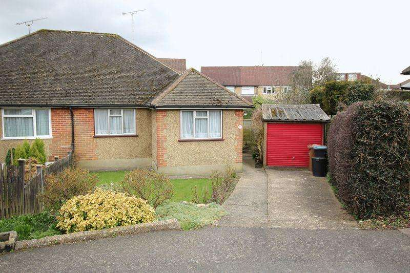 2 Bedrooms Semi Detached Bungalow for sale in AUCKLAND ROAD, CATERHAM