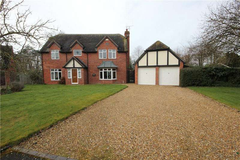 4 Bedrooms Detached House for sale in Manor Orchard, Culmington, Ludlow, Shropshire, SY8