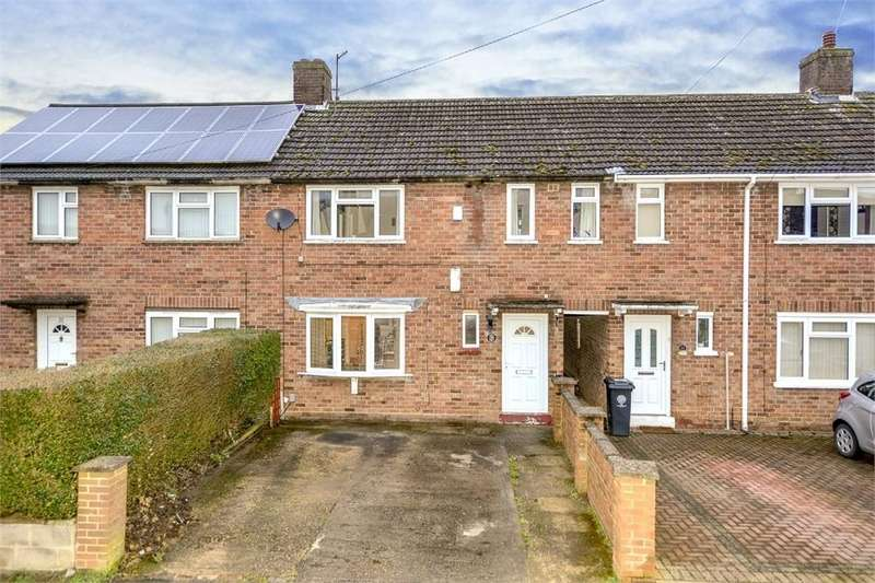 3 Bedrooms Terraced House for sale in Gloucester Crescent, Rushden, Northamptonshire