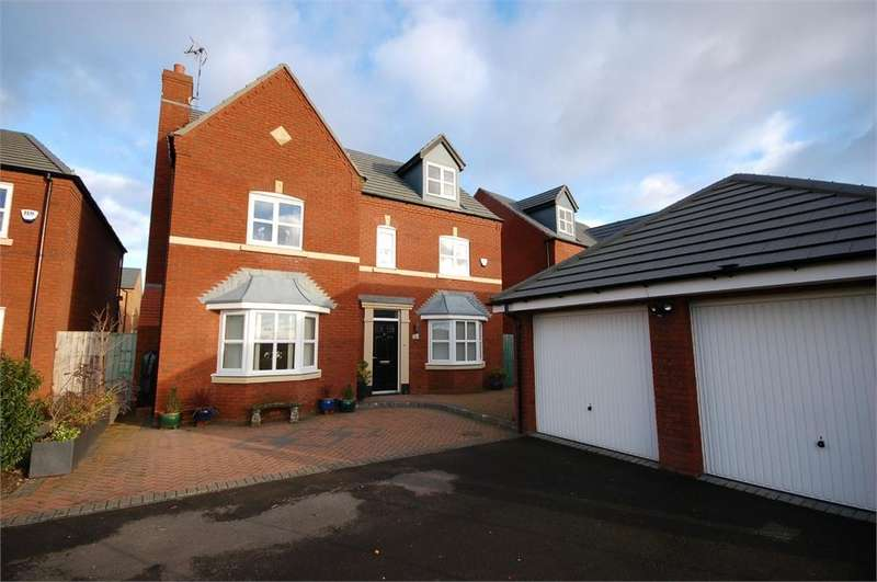 5 Bedrooms Detached House for sale in Linby Way, Waterside Village, ST HELENS, Merseyside