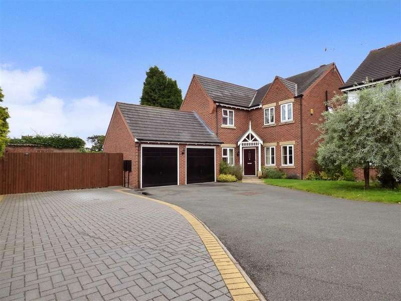 5 Bedrooms Detached House for sale in Cappelle Rise, Audley, Stoke-on-Trent