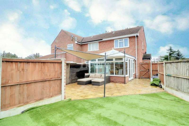 2 Bedrooms End Of Terrace House for sale in Spring Sedge Close, Stanway, CO3