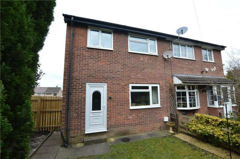 3 Bedrooms Semi Detached House for sale in Cross Hills Drive, Kippax, Leeds, West Yorkshire