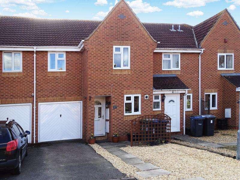 3 Bedrooms Terraced House for sale in Burnet Close, Melksham