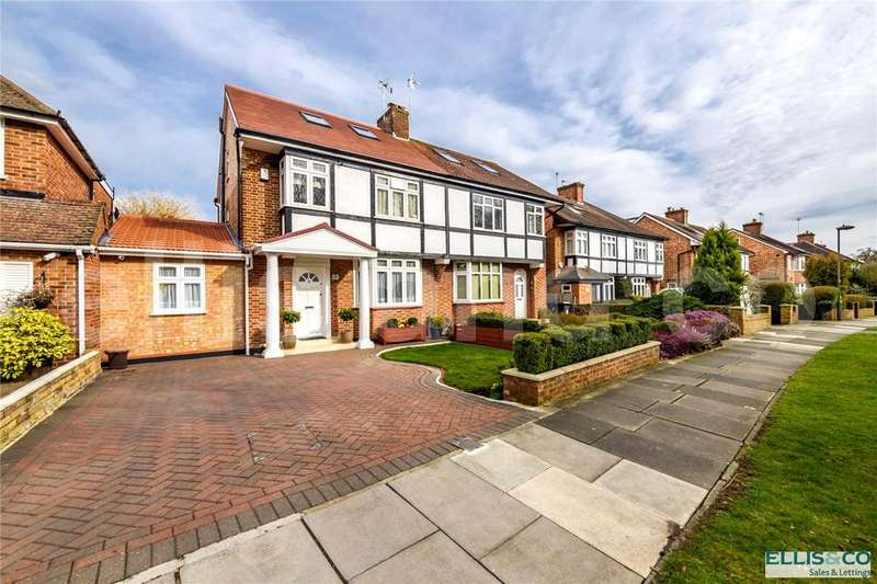 4 Bedrooms Semi Detached House for sale in Ashley Walk, Mill Hill, London, NW7