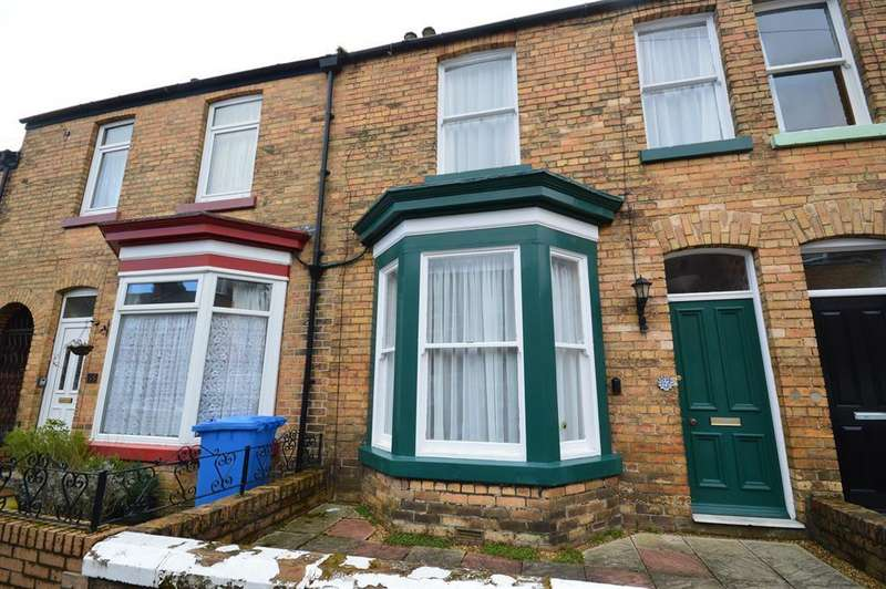 2 Bedrooms Terraced House for sale in Oak Road, Scarborough, YO12 4AP