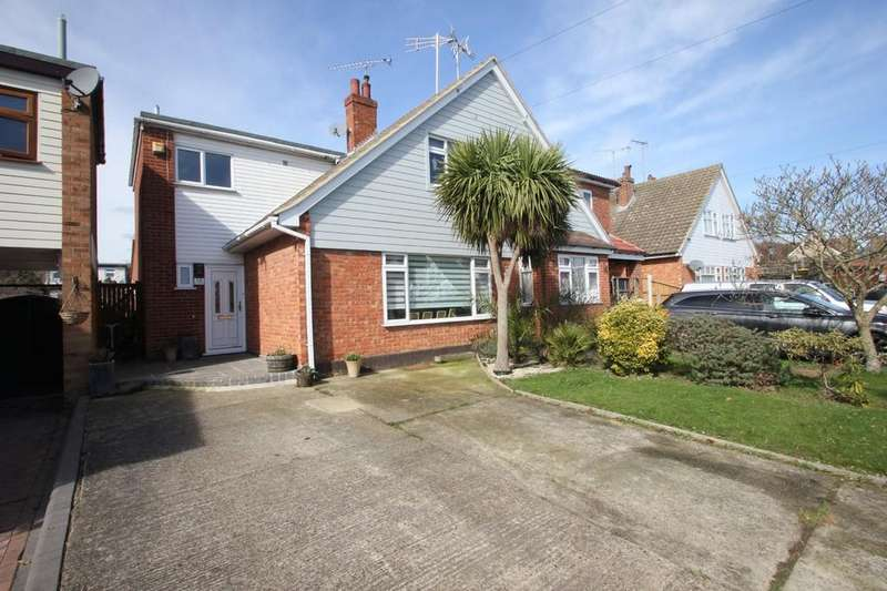 3 Bedrooms Semi Detached House for sale in Heycroft Road, Hawkwell