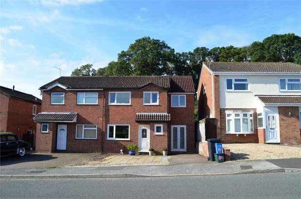 4 Bedrooms Semi Detached House for sale in 85 Valley Way, EXMOUTH, Devon