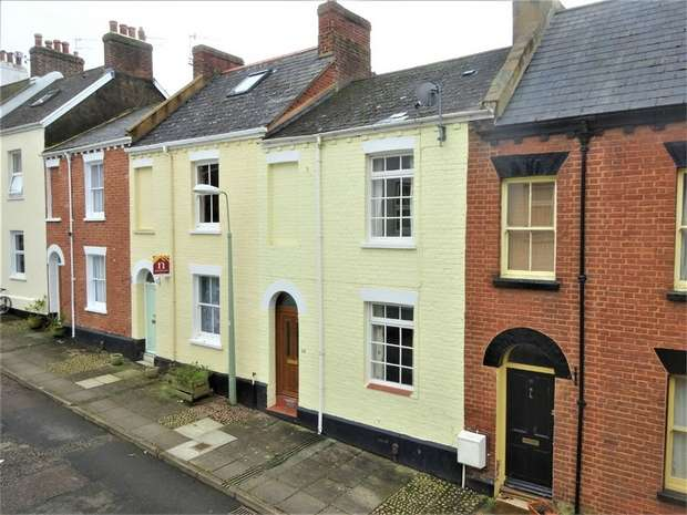 2 Bedrooms Terraced House for sale in Sandford Walk, Newtown, EXETER, Devon
