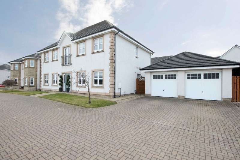 5 Bedrooms Detached House for sale in Fulmar Drive, Dunfermline, Fife, KY11 8JY