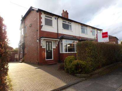 3 Bedrooms Semi Detached House for sale in Aysgarth Avenue, Romiley, Stockport, Cheshire