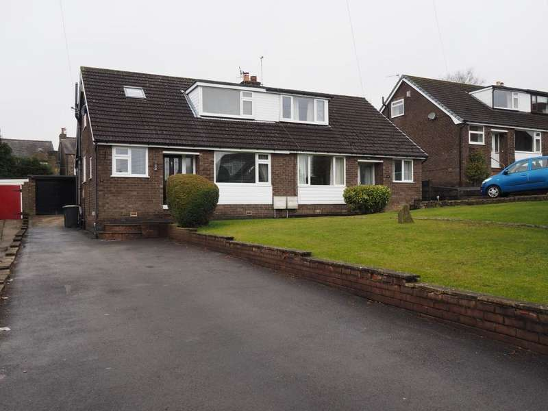 3 Bedrooms Semi Detached House for sale in Aldersgate, New Mills, High Peak, Derbyshire, SK22 3BT
