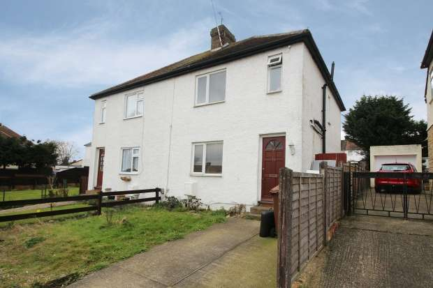 3 Bedrooms Semi Detached House for sale in Hawthorn Road, Rochester, Kent, ME2 2HP
