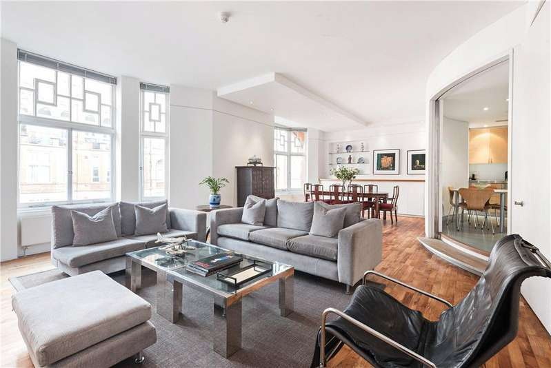 3 Bedrooms Flat for sale in Bickenhall Mansions, Bickenhall Street, Marylebone, London, W1U