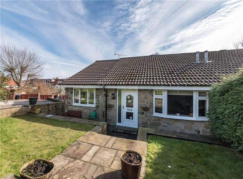 2 Bedrooms Semi Detached Bungalow for sale in Beacon Close, Gilstead, Bingley, West Yorkshire