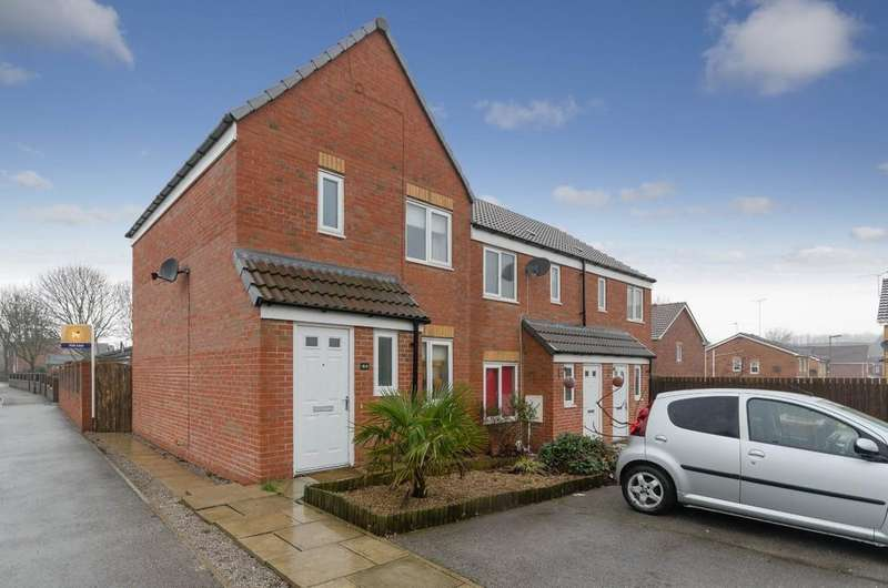 2 Bedrooms Semi Detached House for sale in Northfield Lane, South Kirkby