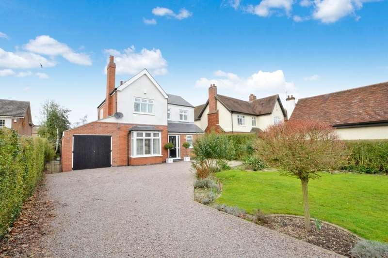 4 Bedrooms Detached House for sale in 117 Beacon Hill Road, Newark