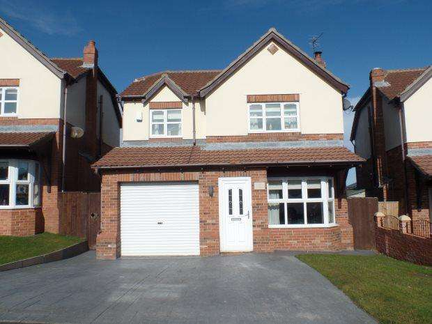4 Bedrooms Detached House for sale in THE COPPICE, EASINGTON, PETERLEE AREA VILLAGES