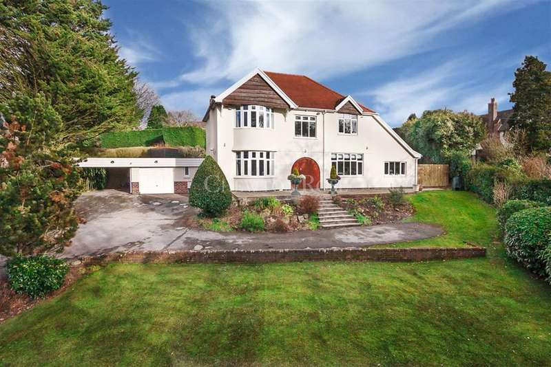 4 Bedrooms Detached House for sale in Glasllwch Lane, Newport, South Wales