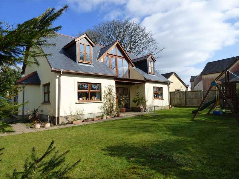 4 Bedrooms Detached House for sale in Rhodewood, Fosse Way, Cosheston, Pembroke Dock