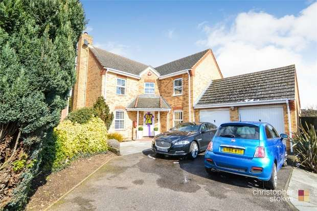 4 Bedrooms Detached House for sale in Wells Close, Cheshunt, WALTHAM CROSS, Hertfordshire
