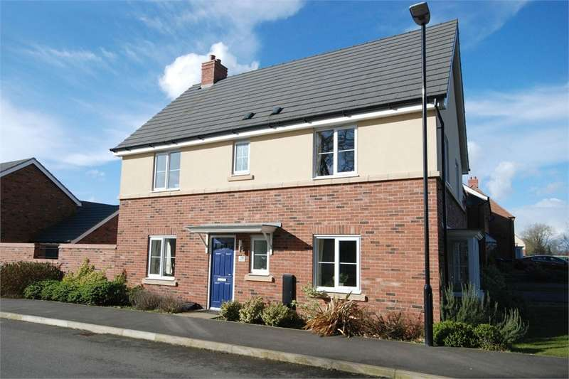 4 Bedrooms Detached House for sale in Aspen Road, Eden Park, RUGBY, Warwickshire