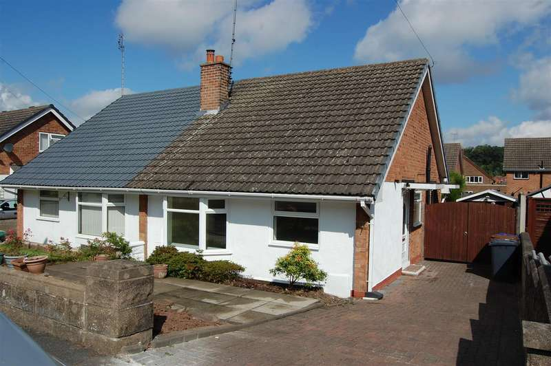 2 Bedrooms Semi Detached Bungalow for sale in Mayfield Drive, Burton-On-Trent