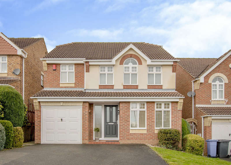 4 Bedrooms Detached House for sale in 4 John Hibbard Close, Woodhouse Mill, S13 9UY