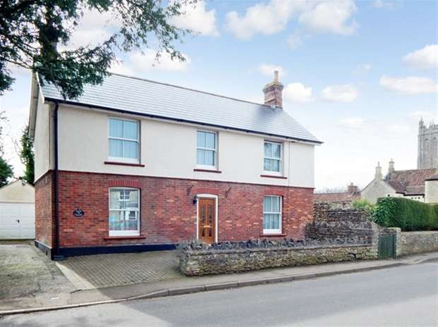 3 Bedrooms Detached House for sale in Evercreech, Shepton Mallet