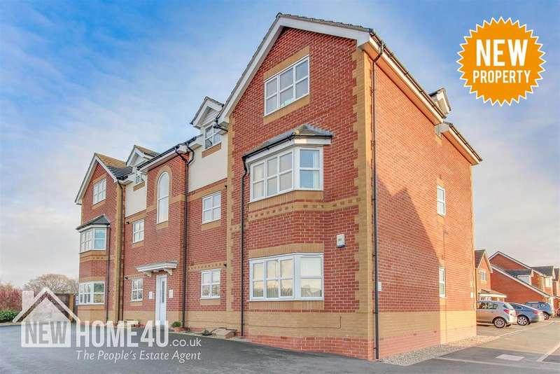 2 Bedrooms Apartment Flat for sale in Ewloe Heath, Buckley