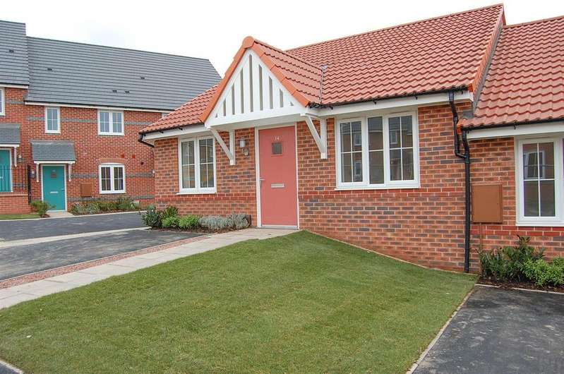 2 Bedrooms Terraced Bungalow for sale in Rowan Close Cotgrave, Nottingham