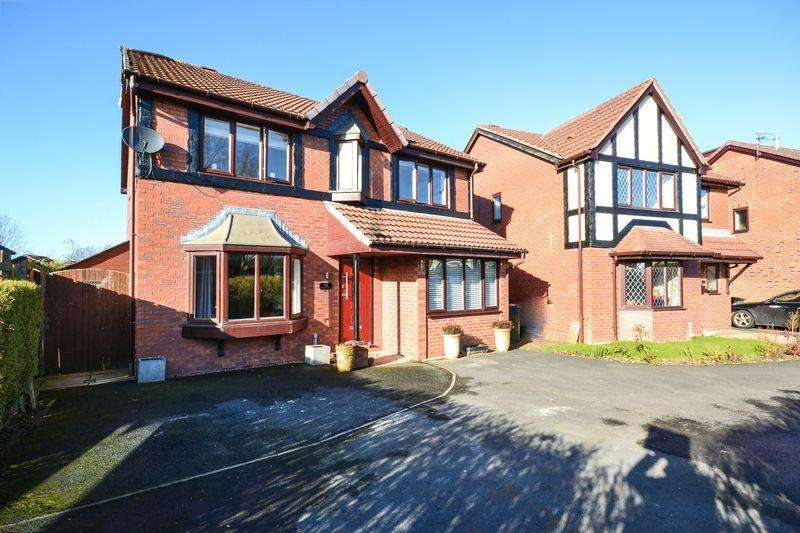 4 Bedrooms Detached House for sale in Vicarage Gardens, Burscough, Ormskirk