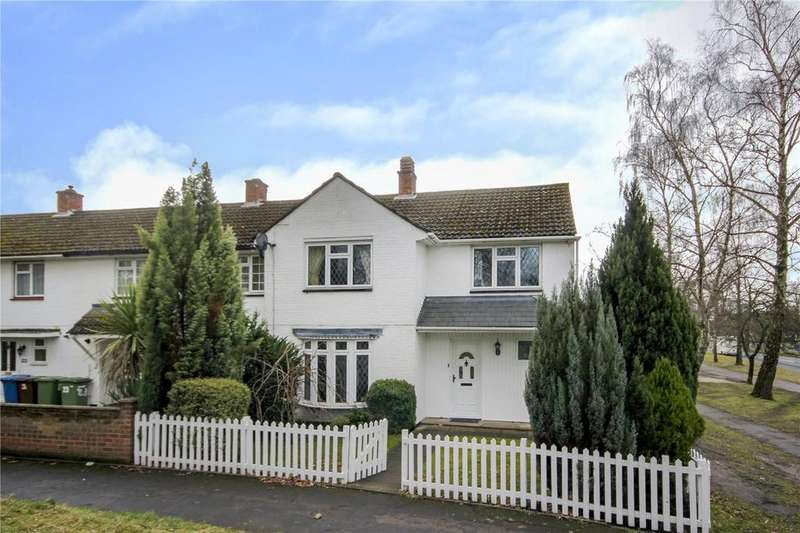 4 Bedrooms End Of Terrace House for sale in Longwater Road, Bracknell, Berkshire, RG12