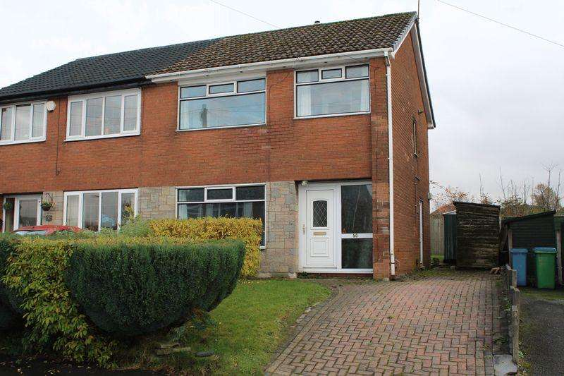 3 Bedrooms Semi Detached House for sale in Bridge Bank Road, Smithybridge, Littleborough, Rochdale, OL15 8QU