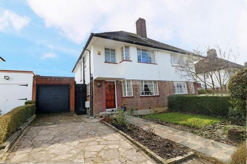 3 Bedrooms Semi Detached House for sale in Ludlow Way, Hampstead Garden Suburb