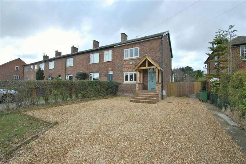 3 Bedrooms End Of Terrace House for sale in Moor Lane, Woodford, Cheshire