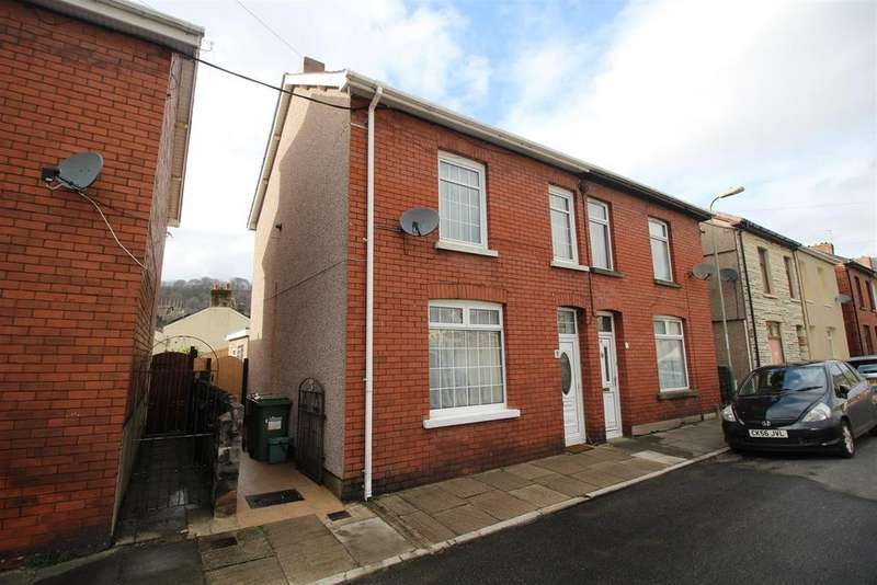 3 Bedrooms Semi Detached House for sale in Malvern Terrace, Risca, Newport
