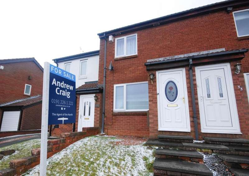 2 Bedrooms Terraced House for sale in Lapwing Close, Washington