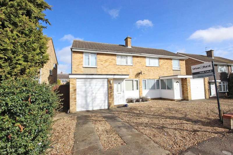 3 Bedrooms Semi Detached House for sale in Goodrich Avenue, Bedford