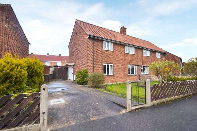 3 Bedrooms Semi Detached House for sale in Ramsey Crescent, Yarm, Stockton-On-Tees