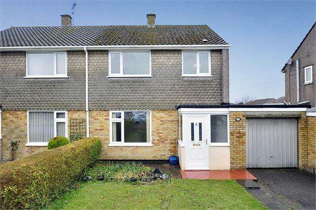 3 Bedrooms Semi Detached House for sale in Sandy Lane, Caldicot, NP26 4NE